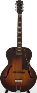 Musical Instruments:Acoustic Guitars, 1950s Gibson L-50 Sunburst Archtop Acoustic Guitar....