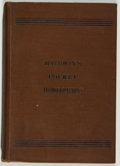 Books:Medicine, D. A. Baldwin, M. D. The Family Pocket Homoeopathist.Rochester: Darrow, 1886. Second edition. Twelvemo. 158 pages. ...