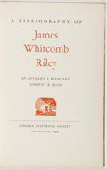 Books:Books about Books, [Books about Books]. [James Whitcomb Riley, subject]. Anthony J. and Dorothy R. Russo. A Bibliography of James Whitcomb ...
