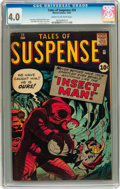 Silver Age (1956-1969):Horror, Tales of Suspense #24 (Marvel, 1961) CGC VG 4.0 Cream to off-whitepages....