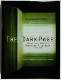 Books:Books about Books, [Books about Books]. SIGNED. Kevin Johnson. The Dark Page. Books That Inspired American Film Noir [1940-1949]. F...