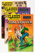 Golden Age (1938-1955):Classics Illustrated, Classics Illustrated Group (Gilberton, 1948-61) Condition: AverageFN.... (Total: 56 Comic Books)