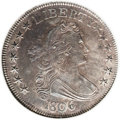 Early Half Dollars: , 1806 50C Pointed 6, Stem MS61 ANACS. O-118a, R.3. Although it is acommon coin, this is a spectacular piece with extensive ...