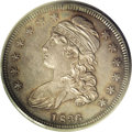 Proof Bust Half Dollars: , 1836 50C 50/00 Lettered Edge PR65 PCGS. O-116, R.7 as a proof.According to Breen (1977) four varieties are known of the 18...