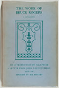 Books:Books about Books, [Books about Books]. [Bruce Rogers, subject]. The Work of BruceRogers. New York: Oxford University, 1939. First edi...