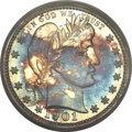 Proof Barber Quarters, 1901 25C PR66 PCGS....