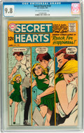 Silver Age (1956-1969):Romance, Secret Hearts #133 (DC, 1969) CGC NM/MT 9.8 Off-white to white pages....
