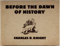 Books:Natural History Books & Prints, Charles R. Knight. Before the Dawn of History. New York and London: Whittlesey House/McGraw-Hill Book Company, I...
