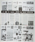 Books:Art & Architecture, [Model Building]. Sam Speaks Magazine. [Davis: Society of Antique Modelers], 1978-1993. Approximately 148 issues of ... (Total: 4 Items)