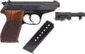 Handguns:Semiautomatic Pistol, Boxed Walther Model P5 Double-Action Semi-Automatic Pistol....
