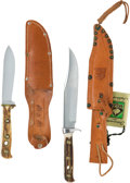Edged Weapons:Knives, Lot of Two Puma Hunting Knives.... (Total: 2 )