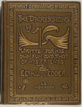 Books:Biography & Memoir, Elihu Vedder. The Digressions of V. Boston: HoughtonMifflin, 1910. First edition. Octavo. 521 pages. Illustrate...