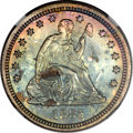 Proof Seated Quarters, 1885 25C PR66 Cameo NGC....