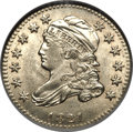 Bust Dimes, 1821 10C Small Date MS64 NGC. JR-9, R.2....
