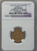 Civil War Merchants, (1861-65) A.C. Dutton, Eaton Rapids, MI, F-300A-1b, R.8 -Improperly Cleaned - NGC Details. Unc.. Purchased from JamesKel...