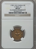 Civil War Merchants, (1861-65) Glazier's Pharmacy, Parma, MI, F-740A-1b, R.8 MS62 NGC..From The Clifton A. Temple Collection....