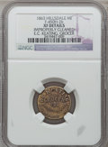 Civil War Merchants, 1863 E.C. Keating, Hillsdale, MI, F-450H-2b, R.9 - ImproperlyCleaned - NGC Details. XF.. From The Clifton A. TempleColle...