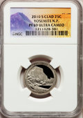 Proof National Parks Quarters, 2010-S 25C Yosemite National Park Clad PR69 Ultra Cameo NGC. PCGSPopulation (1023/247). (#418837)...