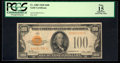 Small Size:Gold Certificates, Fr. 2405 $100 1928 Gold Certificate. PCGS Apparent Fine 15.. ...