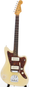 Musical Instruments:Electric Guitars, 1960 Fender Jazzmaster Blonde Solid Body Electric Guitar, Serial # 68911....