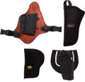 Arms Accessories:Holsters, Lot of Four Holsters.... (Total: 5 Items)