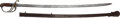 Edged Weapons:Swords, Rare U. S. Model 1833 Dragoon Saber....