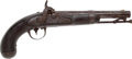 Handguns:Muzzle loading, U.S. Martial A. Waters Model 1836 Conversion Pistol....