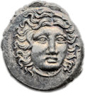Ancients:Greek, Ancients: THESSALY. Pseudo-Rhodian. Time of Perseus, ca. 175-170BC. AR drachm (2.59 gm). ...