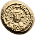 Ancients:Byzantine, Ancients: Constans II (AD 641-668). AV solidus (11mm, 4.47 gm, 6h)....