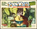 "Movie Posters:Animation, Snow White and the Seven Dwarfs (RKO, 1937). Lobby Card (11"" X14"").. ..."