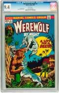 Bronze Age (1970-1979):Horror, Werewolf by Night #5 (Marvel, 1973) CGC NM 9.4 White pages....