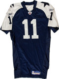 Football Collectibles:Uniforms, 2005 Drew Bledsoe Game Issued Dallas Cowboys Jersey....