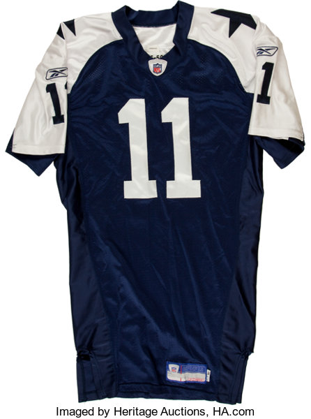 843c4c864d7 Football Collectibles:Uniforms, 2005 Drew Bledsoe Game Issued Dallas  Cowboys Jersey.