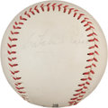 Autographs:Baseballs, 1970 Satchel Paige Single Signed Baseball....