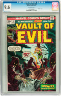 Bronze Age (1970-1979):Horror, Vault of Evil #20 (Marvel, 1975) CGC NM+ 9.6 Off-white pages....