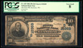 National Bank Notes:West Virginia, Keystone, WV - $10 1902 Plain Back Fr. 629 The First NB Ch. # (S)10369. ...