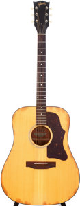 Musical Instruments:Acoustic Guitars, 1975 Gibson J-40 Natural Acoustic Guitar, Serial # 99178184....