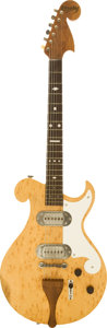 Musical Instruments:Electric Guitars, 1949 Bigsby Birdseye Maple Solid Body Electric Guitar, #51649....