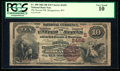 National Bank Notes:West Virginia, Morgantown, WV - $10 1882 Brown Back Fr. 490 The Second NB Ch. #(S)2458. ...