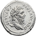 Ancients:Roman Imperial, Ancients: Septimius Severus (AD 193-211). AR denarius (19mm, 3.67gm, 12h). ...