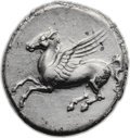 Ancients:Greek, Ancients: Syracuse. Timoleon and the Third Democracy (344-317 BC).AR stater (22mm, 8.24 gm, 3h). ...