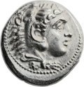 Ancients:Greek, Ancients: Alexander III the Great (336-323 BC). AR tetradrachm(27mm, 17.25 gm, 2h). ...