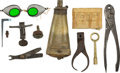 Antiques:Antiquities, Lot of Assorted Civil War Arms Accessories. ... (Total: 11 Items)