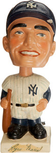 Baseball Collectibles:Others, 1961-63 Roger Maris White Base Nodder....
