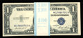Small Size:Silver Certificates, Fr. 1614 $1 1935E Silver Certificates. Original Pack of 100. Choice Crisp Uncirculated.. ... (Total: 100 notes)
