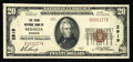 National Bank Notes:Missouri, Sedalia, MO - $20 1929 Ty. 1 The Third NB Ch. # 2919. ...