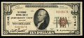 National Bank Notes:Missouri, Jefferson City, MO - $10 1929 Ty. 1 The Exchange NB Ch. # 13142....