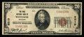 National Bank Notes:Missouri, Windsor, MO - $20 1929 Ty. 1 The First NB Ch. # 9519. ...