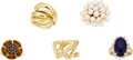 Estate Jewelry:Lots, Multi-Stone, Cultured Pearl, Gold Rings. ...