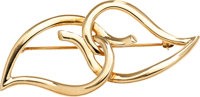 Gold Brooch, Tiffany & Co